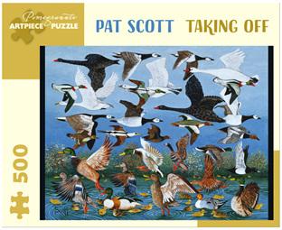 Pomegranate 500 Piece Jigsaw Puzzle: Pat Scott - Taking Off