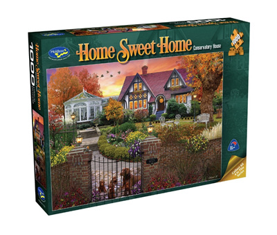 Holdson's 1000 Piece Jigsaw Puzzle: Conservatory House