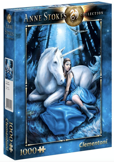 Clementoni Anne Stokes 1000 Piece Jigsaw Puzzle: Blue Moon