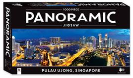 Hinkler 1000 Piece Panorama Jigsaw Puzzle: Singapore