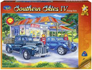 Holdson's 1000 Piece Jigsaw Puzzle: Pretige Autos