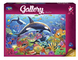Holdson 300  Piece Jigsaw Puzzle: Orca Fun