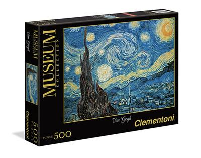 Clementoni 500 Piece Jigsaw Puzzle: Vincent Van Gogh - Starry Night