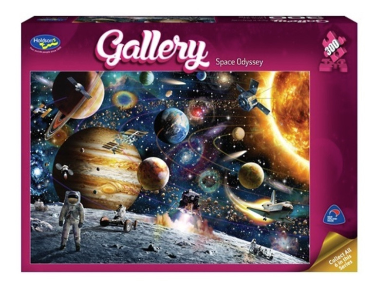 buy at www.puzzlesnz.co.nz Holdson 300 XL jigsaw puzzle Space Odyessy