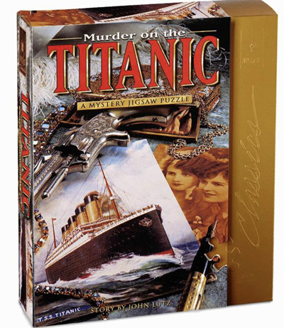 Bepuzzled 1000 Piece Murder Mystery Jigsaw Puzzle: Murder On The Titanic