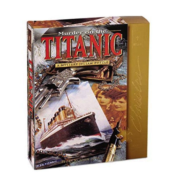 buy Bepuzzled 1000 piece puzzle Murder On The Titanic at www.puzzlesnz.co.nz