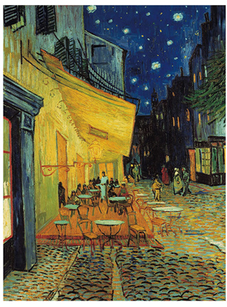 Clementoni 1000 Piece Jigsaw Puzzle: Museum Cafe Terrace At Night