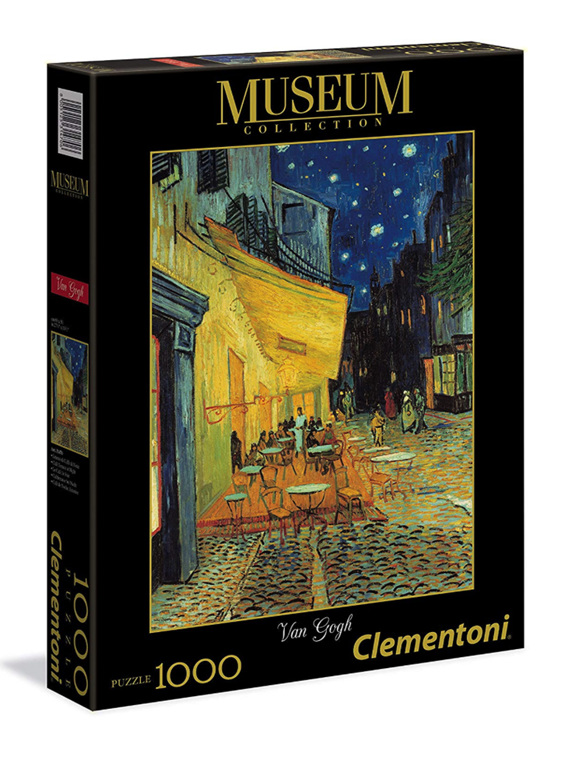 buy Clementoni 1000 piece jigsaw puzzle Cafe Terrace  at www.puzzlesnz.co.nz