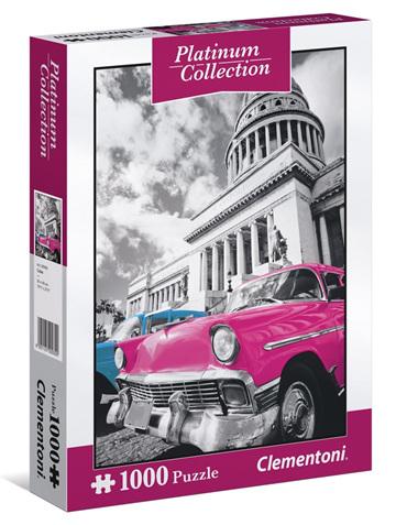 Clementoni 1000 Piece Jigsaw Puzzle: Platinum Cuba