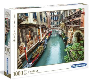 Clementoni 1000 Piece Jigsaw Puzzle: Venice Canal