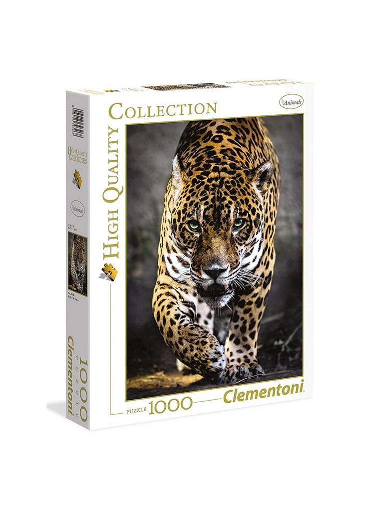 Clementoni 1000 Piece Jigsaw Puzzle: Walk Of The Jaguar
