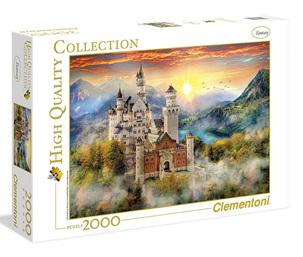Clementoni 2000 Piece Jigsaw Puzzle: Neuschwanstein