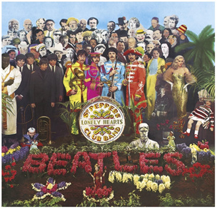 Clementoni 289 Piece Jigsaw Puzzle Sgt Peppers Lonely Hearts Club Band