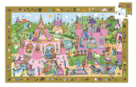 Djeco 54pc Puzzle Observation Princesses