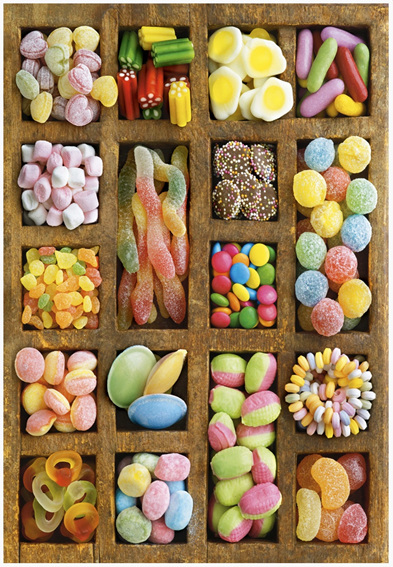 Educa 500 piece puzzle ES15963 Sweet Collage