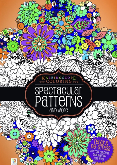 Kaleidoscope Colouring Spectacular Patterns More