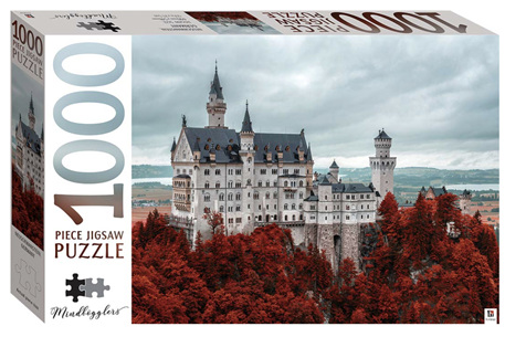 Hinkler Mindboggler 1000 Piece Jigsaw Puzzle: Neuchwanstein Castle Germany