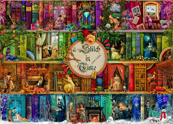 Holdson 1000 Piece Jigsaw Puzzle: A Stitch In Time