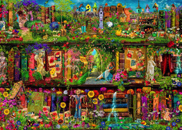 Holdson 1000 Piece Jigsaw Puzzle: The Garden Shelf