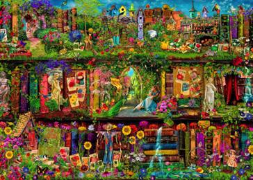 Holdson 1000 Piece Jigsaw Puzzle: The Garden Shelf