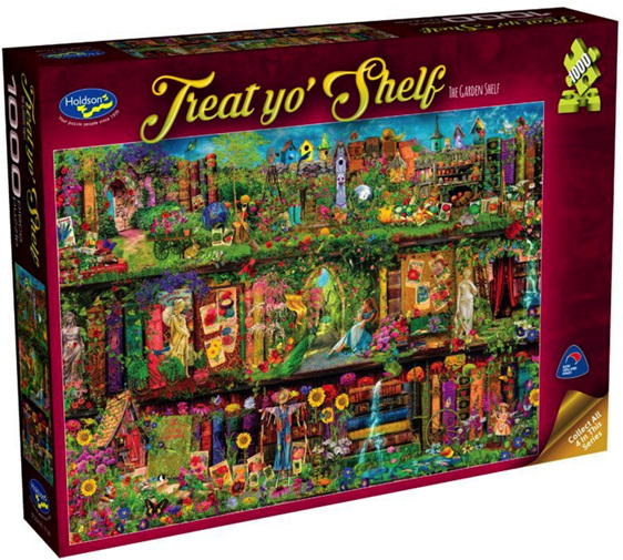 buy Holdson 1000 piece jigsaw puzzle The Garden Shelf at www.puzzlesnz.co.nz