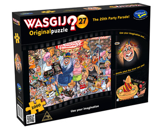 Holdson Wasjig 1000 Piece Jigsaw Puzzle: The 20th Party Parade
