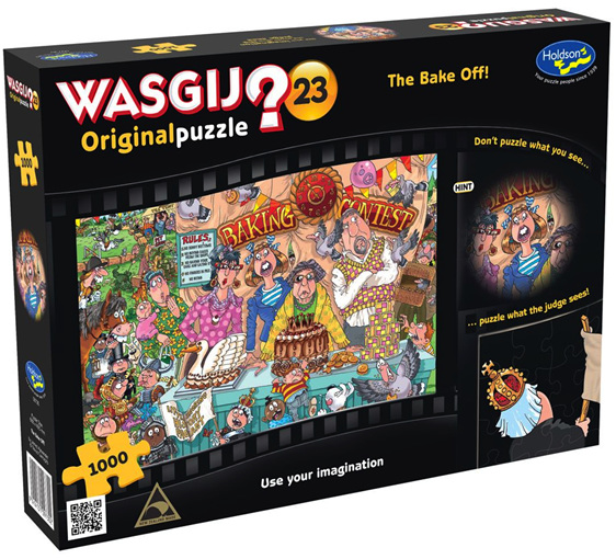 Buy Holdson Wasjig 1000 piece puzzle The Bake Off at www.puzzlesnz.co.nz