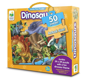 Learning Journey 50 Piece Jumbo Floor Puzzle: Dinosaurs