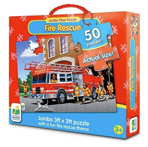 Learning Journey 50 Piece Jumbo Floor Puzzle: Fire Rescue