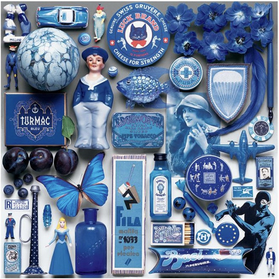 buy now at Ceaco 550 piece jigsaw puzzle Blue at www.puzzlesnz.co.nz