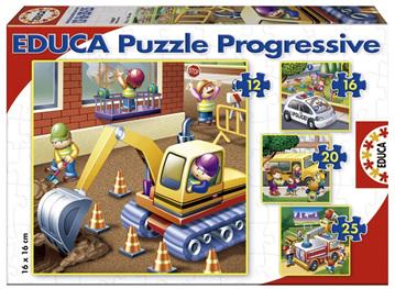 Educa Educa Jigsaw Puzzles 'Vehicles'