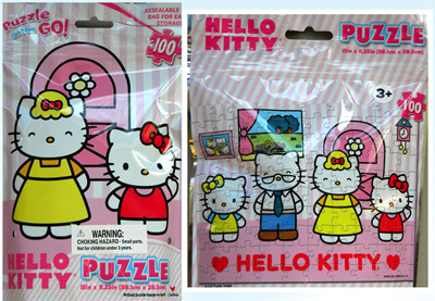 Hello Kitty - Foil Bag 100 piece puzzle