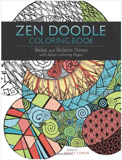 Zen Doodle Colouring Book Kristy Conlin