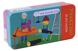 The Purple Cow 24 Piece Fairy Tale Puzzle:  Pinnocchio