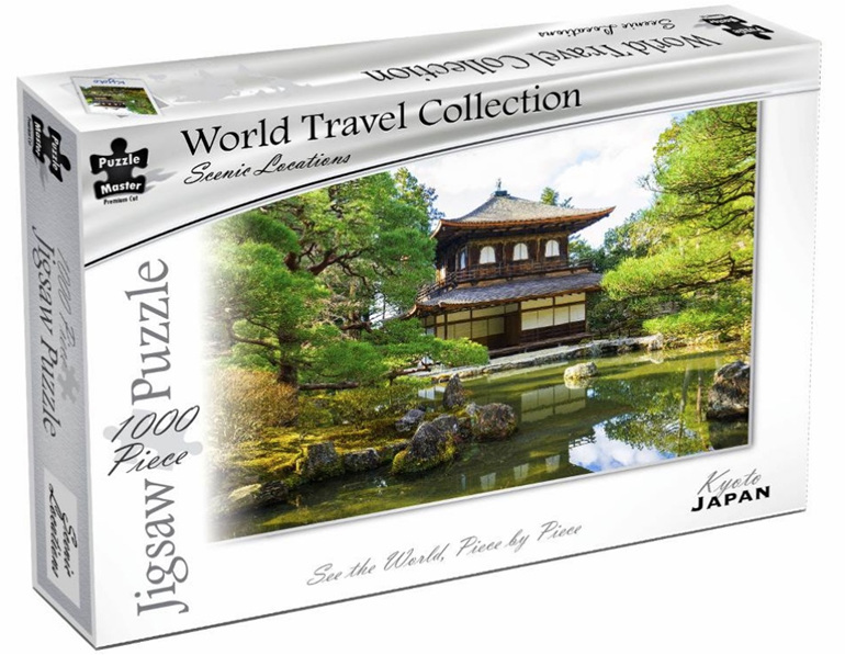 Buy Puzzlemaster 1000 piece jigsaw puzzle Kyoto japan at www.puzzlesnz.co.nz