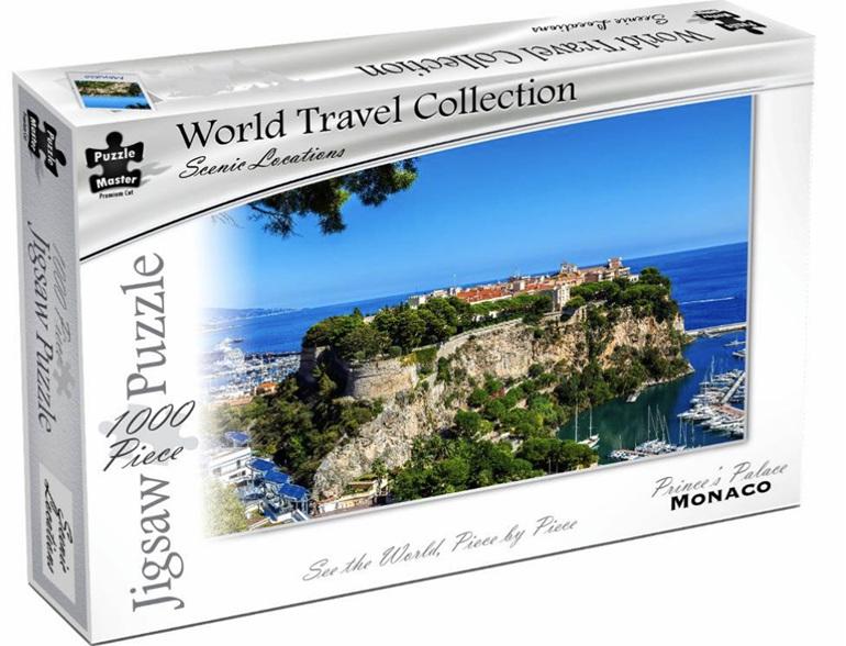 Buy Puzzlemaster 1000 piece jigsaw puzzle Monaco at www.puzzlesnz.co.nz