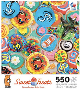 Ceaco USA - Sweet Treat 550 piece puzzle
