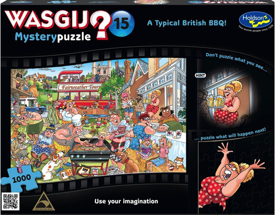 buy Wasjig 1000 piece puzzle A Typical British BBQ from www.puzzlesnz.co.nz