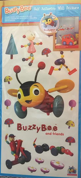 Buzzy Bee Wall Decal