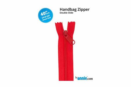 ByAnnie Double Slide Zipper Atom Red