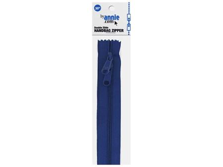ByAnnie Double Slide Zipper Blastoff Blue