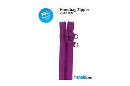 ByAnnie Double Slide Zipper Tahiti (Purple)