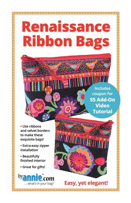 ByAnnie Renaissance Ribbon Bags