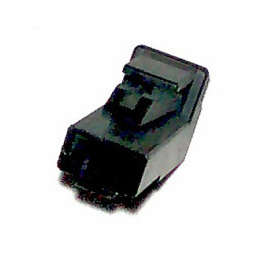 C1S-189B 1 way black connector