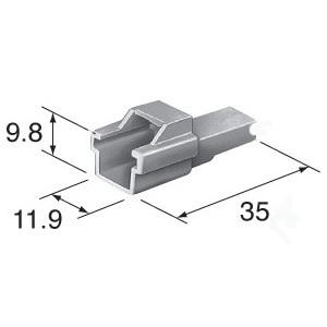 C2P-136 Yamaha crank sensor connector