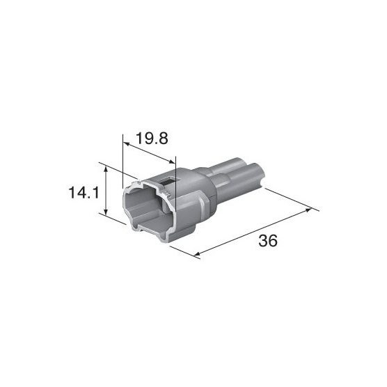 C2P-147W dimensions Suzuki crank