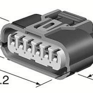 C6S-177B Honda coil subloom connector