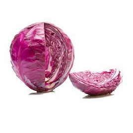 Cabbage Red Certified Organic Each