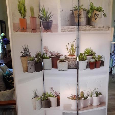 Cactus Door Screen - $350