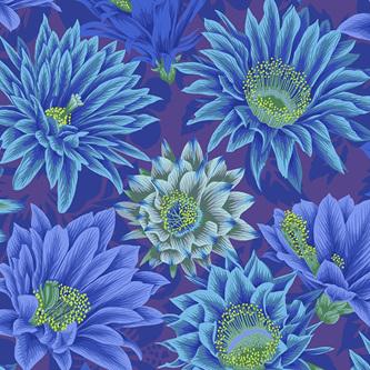 Cactus Flower Blue PWPJ096122